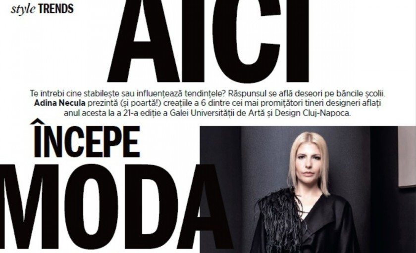 Radiografia Galei UAD 2015 in paginile revistei Cosmopolitan (september issue)