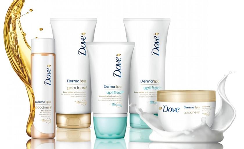 Dove DermaSpa: un nou concept de ingrijire a pielii ce transforma actul hidratarii in placere pura