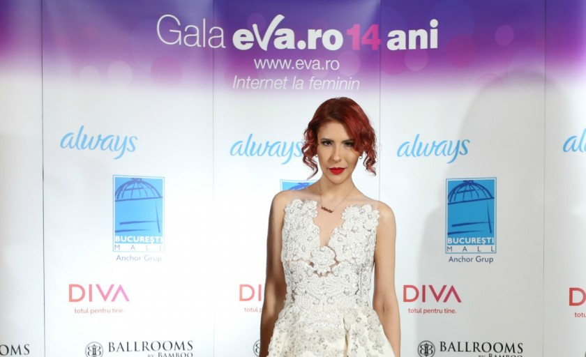 Lady Like Adina Necula in juriu la Gala Eva.ro 14 ani