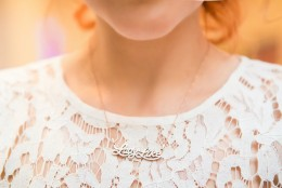 "Lady Like Necklace: un simbol ""to keep"", pentru o femeie ""to remember"""