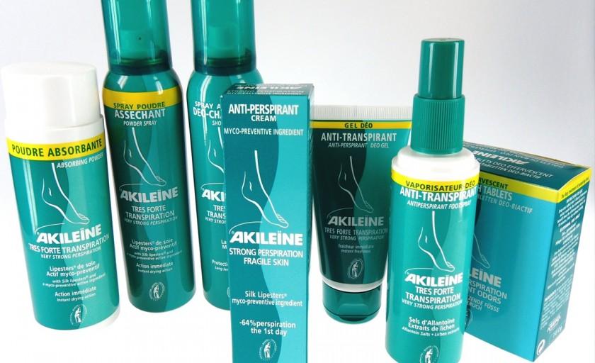 Akileine Verde: expertul in ingrijirea picioarelor si in tratarea transpiratiei excesive