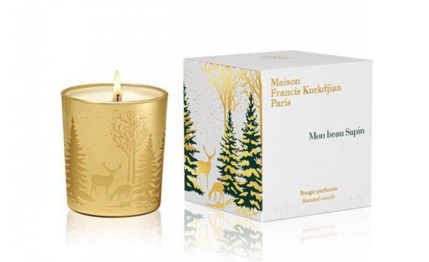 Miresme speciale de Craciun: Mon Beau Sapin, lumanarile parfumate semnate Maison Francis Kurkdjian