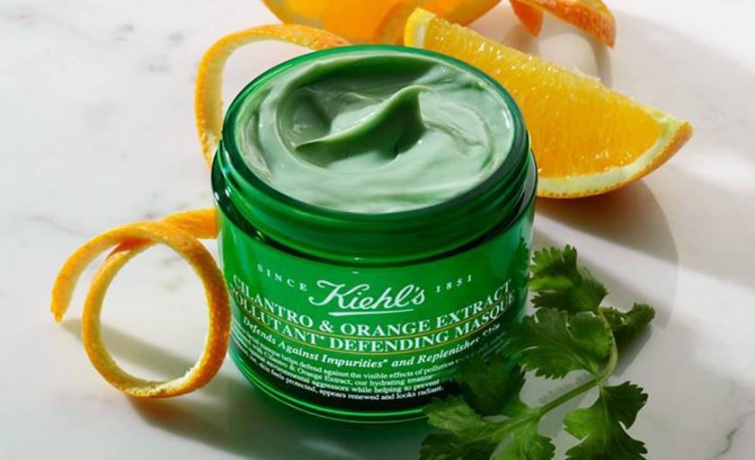 Cosmetica antipoluare: masca Kiehl's cu extract de coriandru si portocala