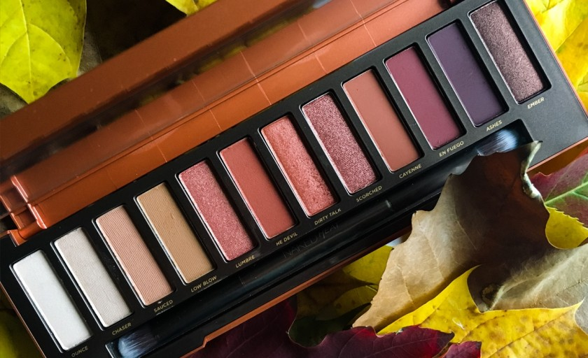 Urban Decay Naked Heat Eyeshadow Palette: bejuri senzuale si accente aramii roscate pentru o privire irezistibila