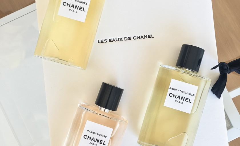 Les Eaux de Chanel: trei jurnale de calatorie olfactiva reunite intr-o colectie amprenta