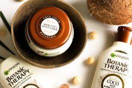 Garnier Botanic Therapy Coco Milk&Macadamia: o formula ultra-hranitoare, care valorifica intregul potential al ingredientelor naturale intr-un proces cu impact redus asupra naturii
