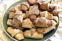 Ladylike Gourmet: cornulete fragede cu gust de copilarie